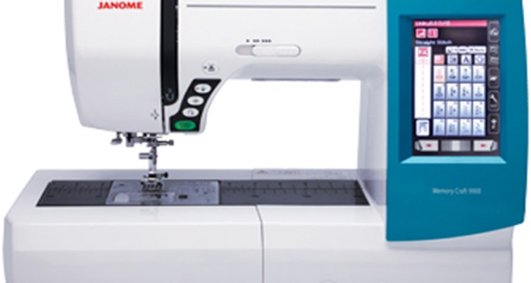 janome memory craft 9990 sewing embroidery combo machine