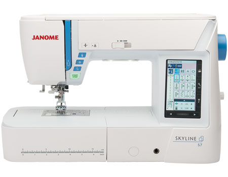 Janome Skyline S7 Quilting Machine