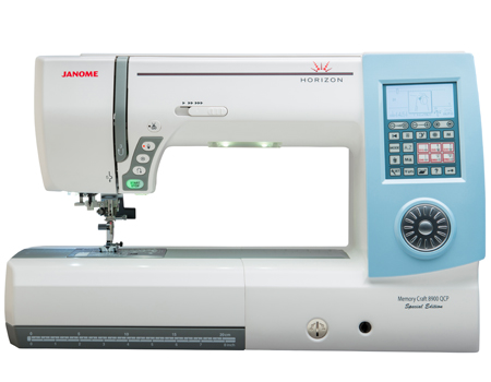 Janome Memory Craft 8900SE Quilting Machine