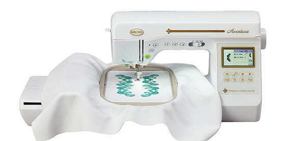 babylock Adventura sewing embroidery combo machine