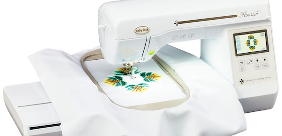 Babylock Flourish Embroidery Machine