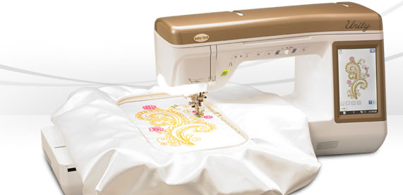 Babylock Unity sewing embroidery combo machine