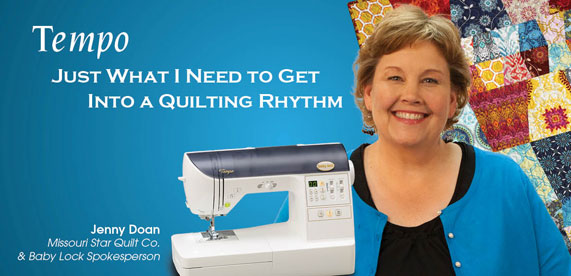 Babylock Tempo Quilting Machine