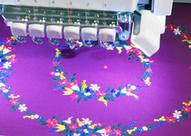 Babylock Endurance II Multi-Needle Embroidery machine