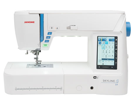Janome Skyline S9 Embroidery Machine